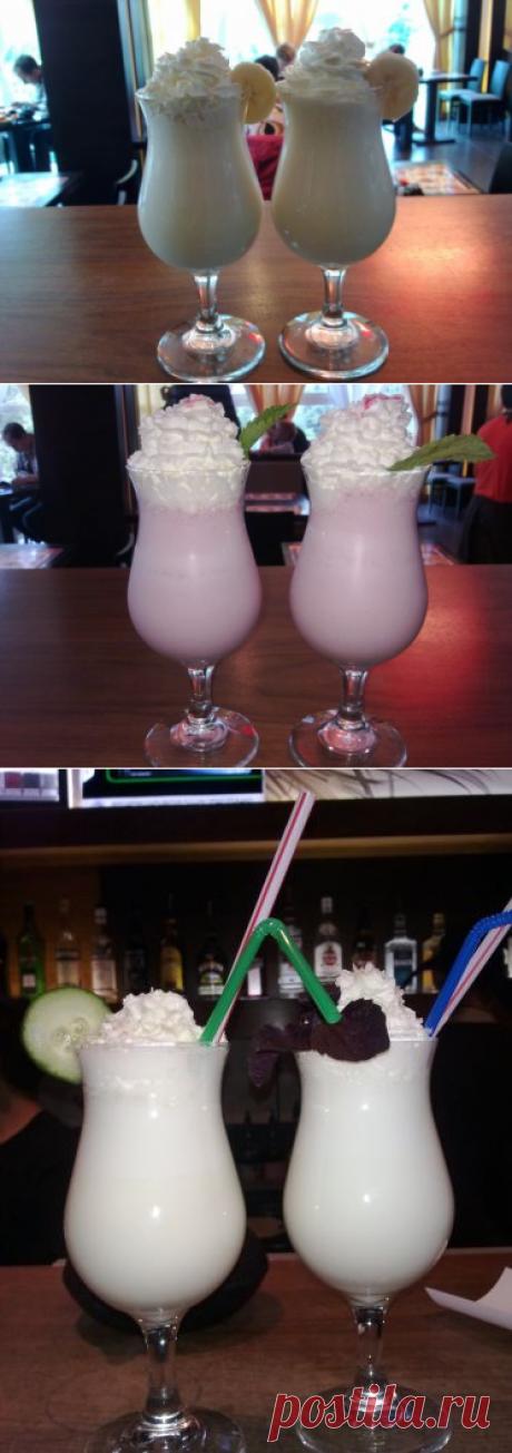 Молочные коктейли (рецепт, граммовка) - Еще одна социальная сеть / Surfingbird знает всё, что ты любишь