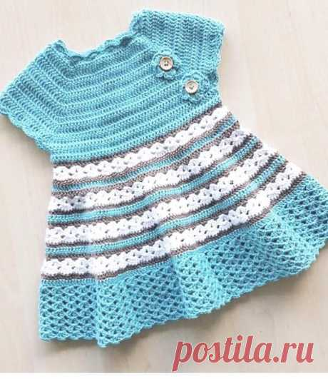 35+ Cute Baby and Kids Crochet Dresses Patterns and Design Ideas - Page 4 of 35 - Kids Crochets