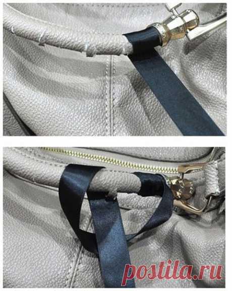 Швея показала, как обновить потрескавшиеся ручки на сумке | diy-idea | Яндекс Дзен