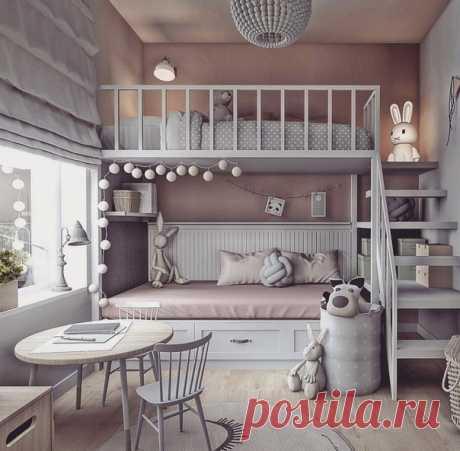 Классная детская комната
