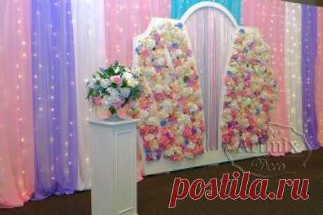 Профессиональное оформление фотозоны для свадьбы   Свадебный декоратор - Артмикс Декор