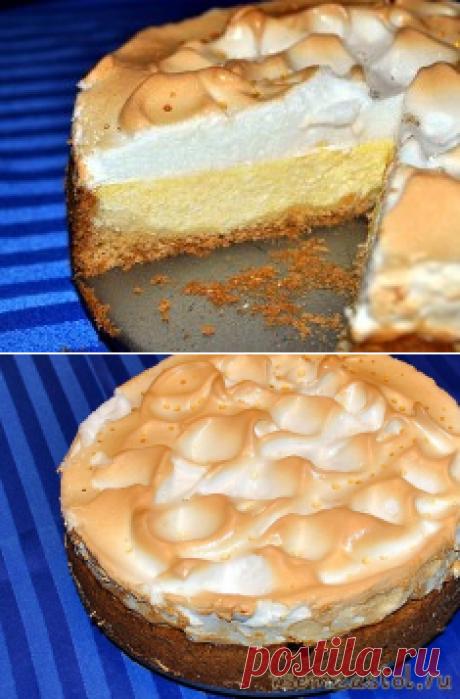 Творожный пирог «Слезы ангела» » Всем За Стол!