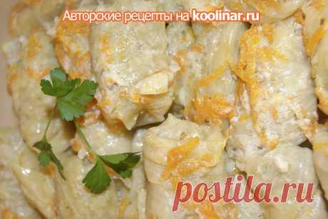 Stuffed cabbage in Greek