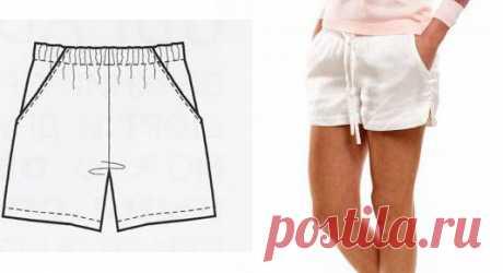 Женские шорты: подборка выкроек  Все подробности в описании к фото