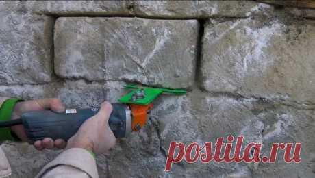 Полезная насадка на болгарку строителю