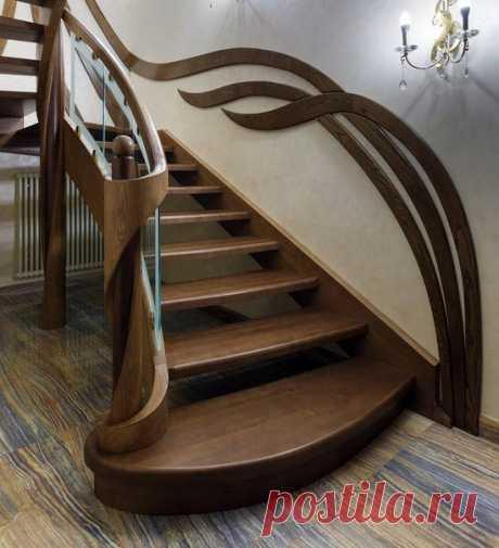 Красивая лестница 👍