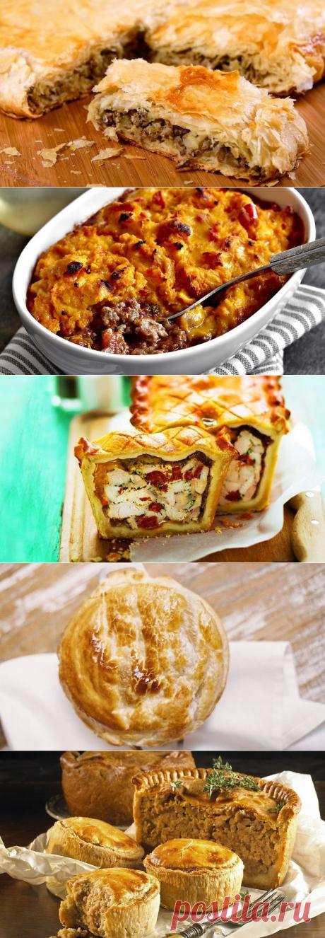 5 простых и вкусных пирогов с мясом