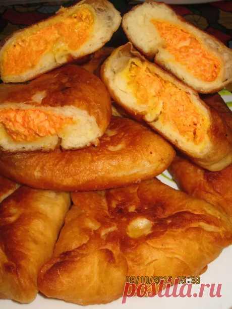 Пирожки с морковной начинкой и беляши с мясом и шанежки ,из одного теста. - Вкусно с Любовью - медиаплатформа МирТесен