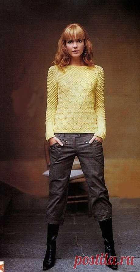 Очаровательный свитерок