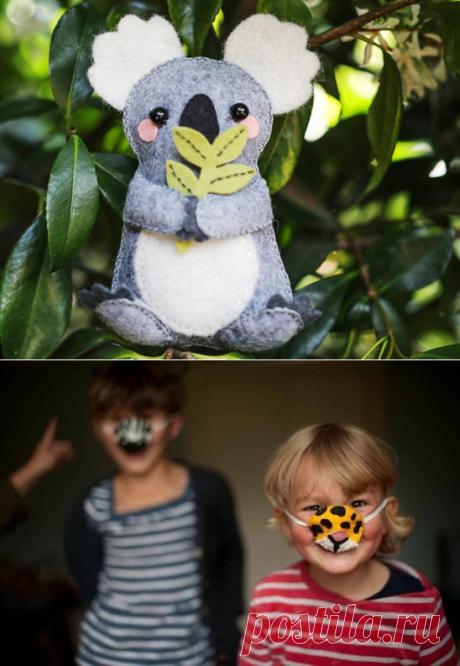 37 забавных поделок, которые можно сделать вместе с детьми