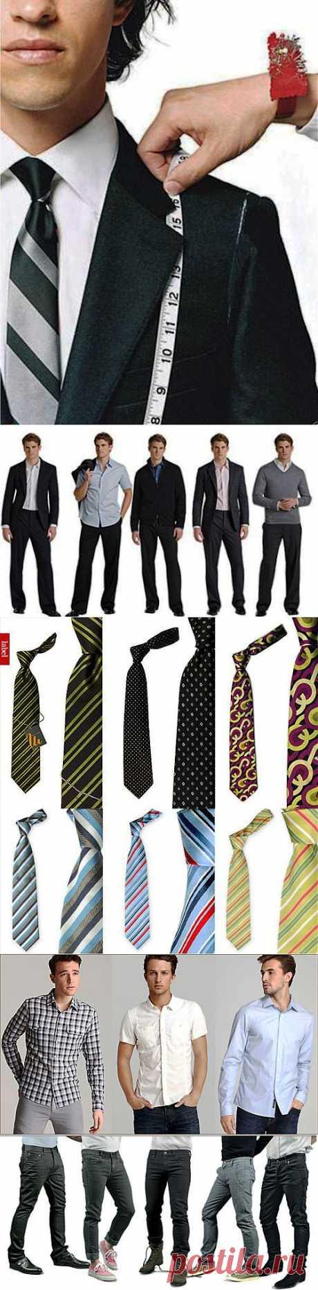 Базовый гардероб для мужчины.