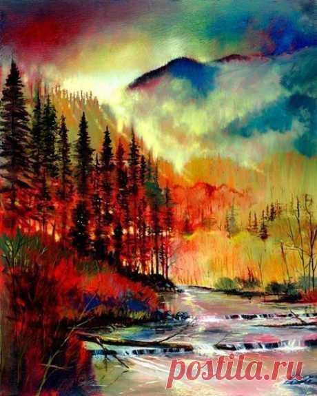 Прекрасные пейзажи от художника Ford Smith