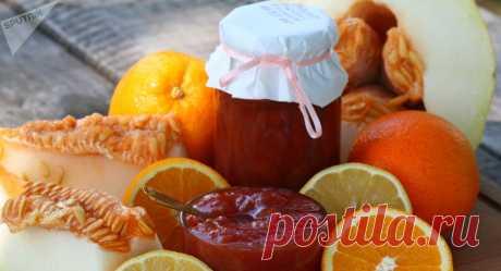 Варенье из дыни, лимонов, апельсинов и бананов - рецепт с фото