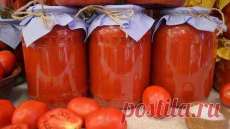 Как я делаю вкусный томатный сок без соковыжималки и мясорубки. Простой способ