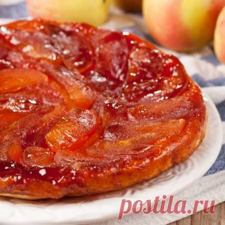 Самый вкусный классический французский пирог… Тарт татен — Вкусные рецепты