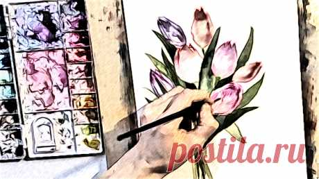 Закрой глаза... Рисуй со мной весну Закрой глаза… Рисуй со мной весну… Возьми с души своей поярче краски. Сейчас я лист с зимой переверну И можно начинать цветную сказку…