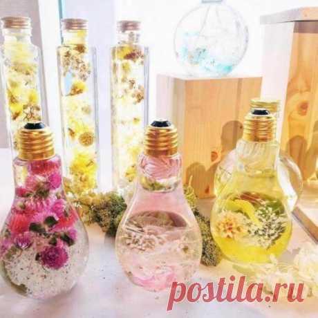 Цветы в глицерине своими руками: как сохранить жизнь свежесрезанным цветам