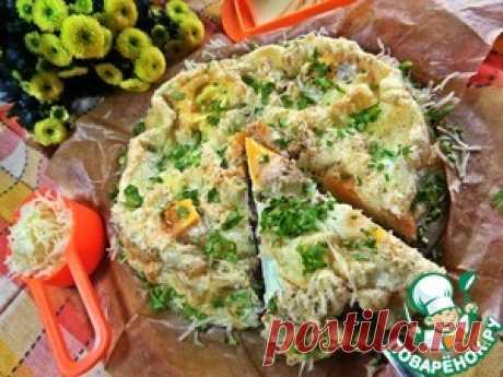 Глазунья под сыром в духовке - кулинарный рецепт