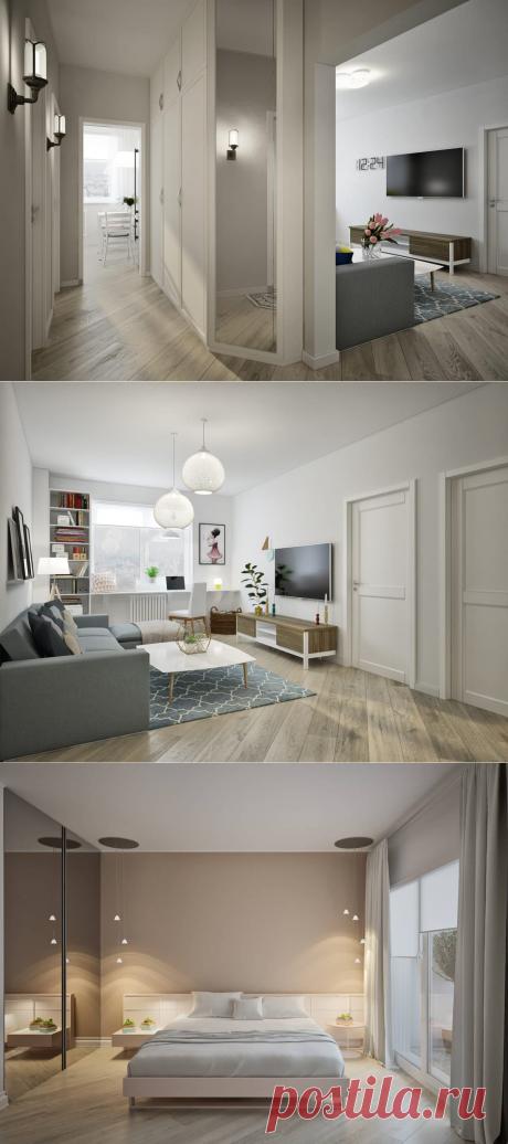 Уютная трёшка — 78 метров для семьи с ребёнком – Roomble.com