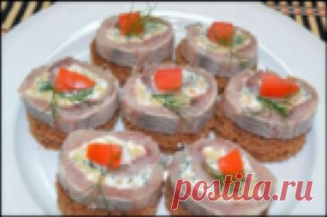 Селедочный рулет - потрясающе вкусная закуска в будни и праздники!