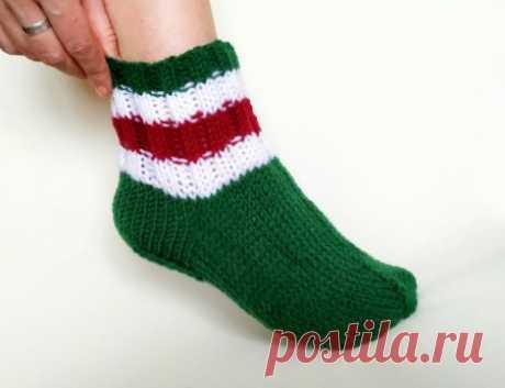 Вяжем носки, чтобы не замерзнуть » «Хомяк55» - всё о вязании спицами и крючком
