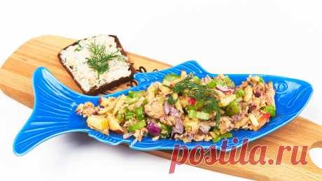 Рыбные консервы могут удивить: готовлю нежный риет за 4 минуты и хрустящий салат с горбушей | Репчатый Лук | Яндекс Дзен