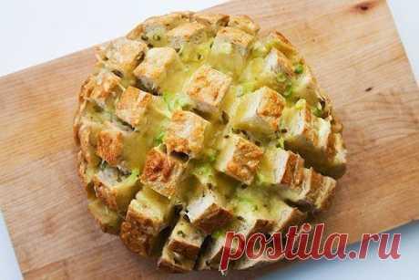 Как приготовить вкуснейший хлеб с сыром - рецепт, ингридиенты и фотографии