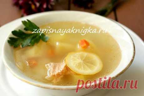 Вкусный рыбный суп.
