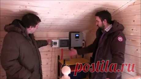 Solar batteries for the house. http:\/\/www.teplowoda.ru\/ Economy of the electric power is possible or not. Price of solar electricity