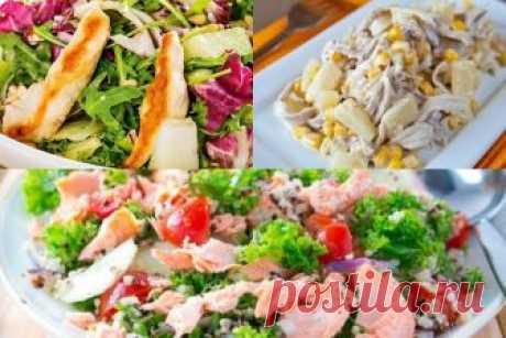 15 лучших салатов с курицей   Мой милый дом