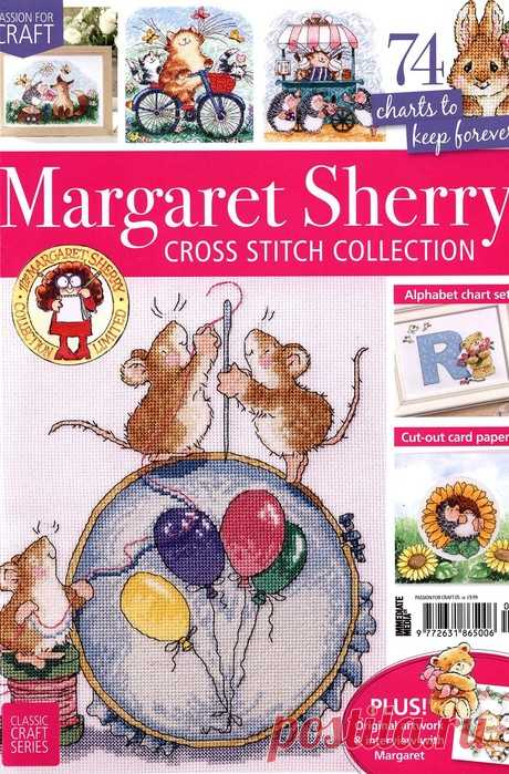 Margaret Sherry Cross Stitch Collection 2019.
