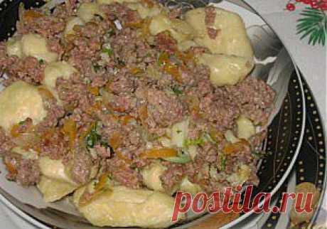 Полтавские галушки   Кулинарные рецепты, вкусные блюда + фото