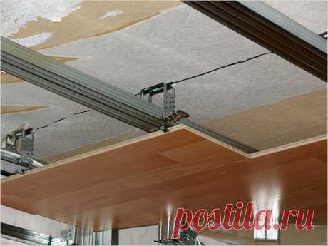 Как использовать ламинат для отделки потолка   Роскошь и уют