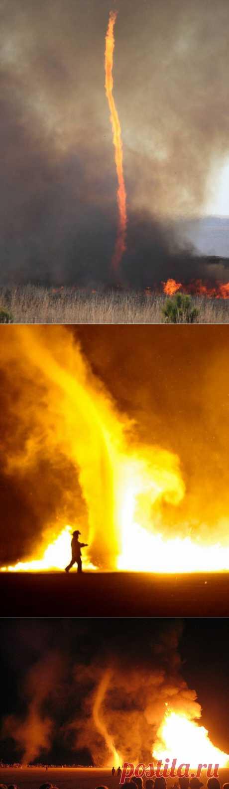 Страшное чудо: огненный смерч / Туристический спутник