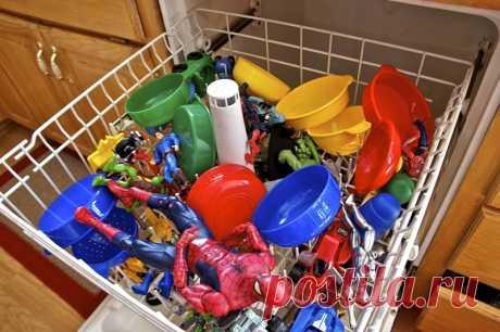 15 неожиданных предметов, которые стоит засунуть в посудомоечную машину! - Важное