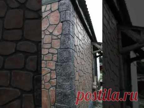 Артбетон фасад