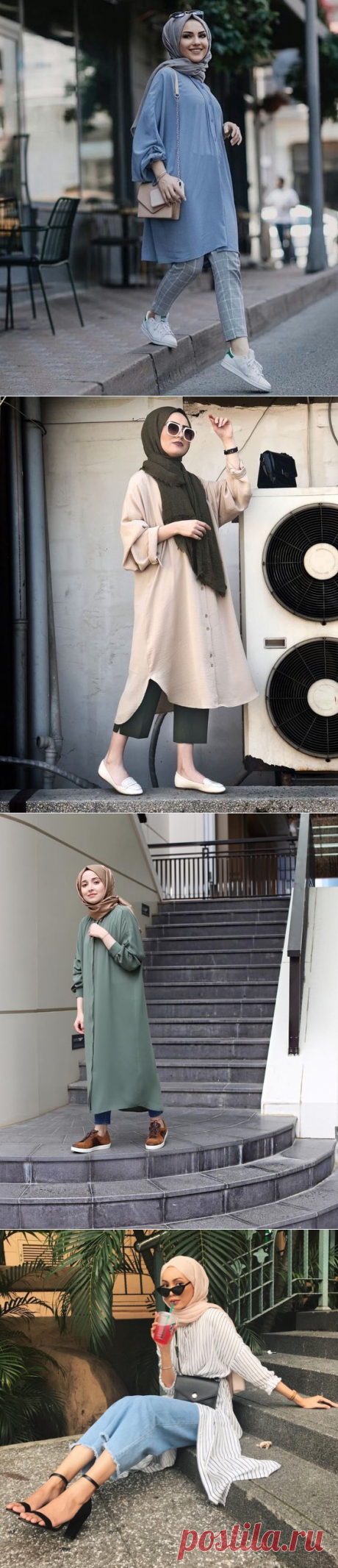 Chic Ways to Wear Tunic For Hijab Outfit - Hijab-style.com