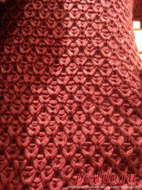Pattern from a tape yarn from tata-bel-62