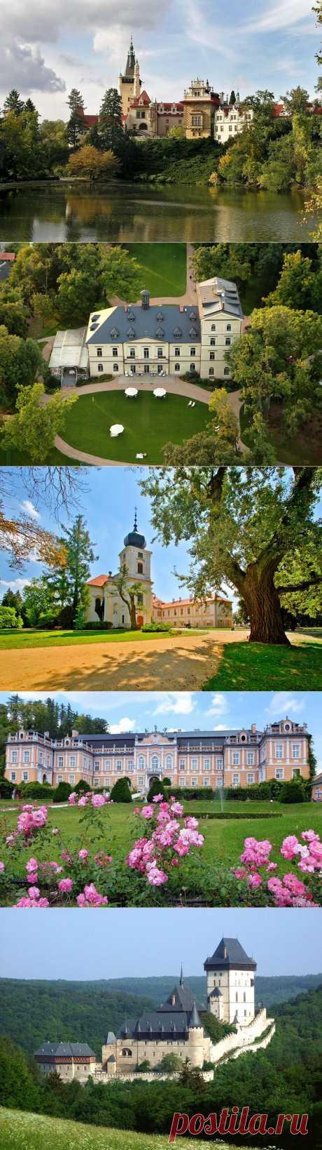 Чехия - страна замков.