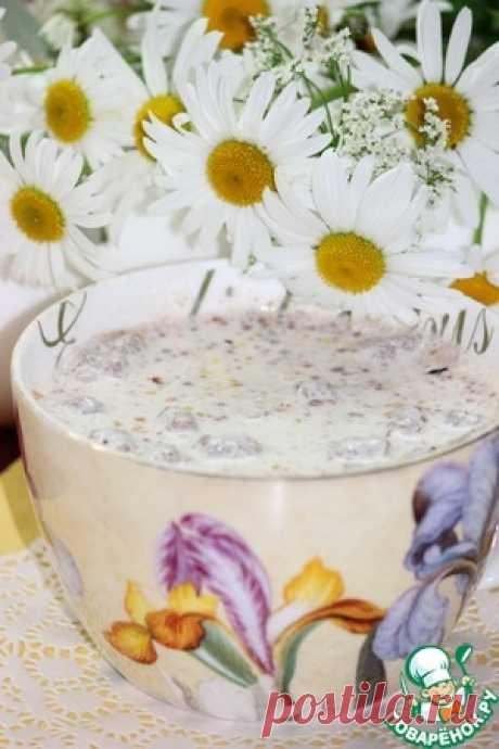 Быстрый кисломолочный коктейль - кулинарный рецепт