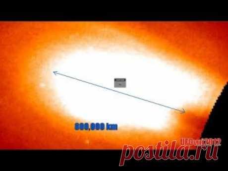 Диаметр 800 000 км. гигантского огненного шара отрывается от Солнца, 5 октября 2018 года - YouTube