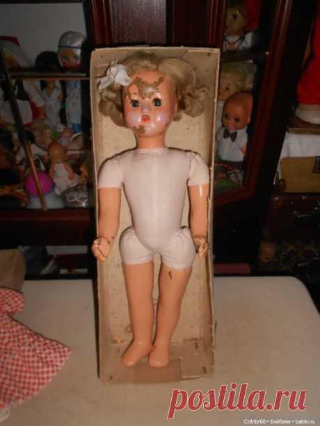Реставрация Загорской опилочной куклы коробочного хранения / Реставрация, общий ремонт куклы / Бэйбики. Куклы фото. Одежда для кукол