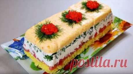 Новый салат «Русский сувенир»   Краше Всех