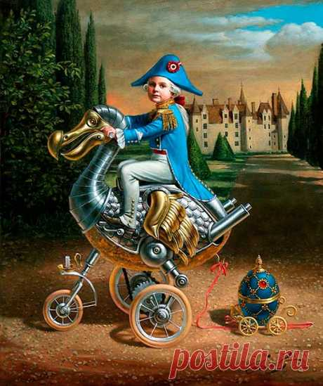 Pintura y surrealismo absurdo de MICHAEL CHEVAL - Colectivo Bicicleta