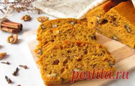 Бесподобный тыквенный хлеб - Вкусные рецепты - медиаплатформа МирТесен