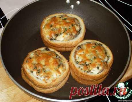 """Жюльен с грибами """"Срочно в номер!"""" – кулинарный рецепт"""