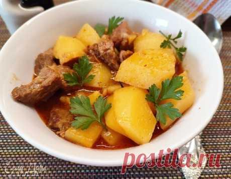 Венгерский гуляш, пошаговый рецепт на 2566 ккал, фото, ингредиенты - michsenkoea