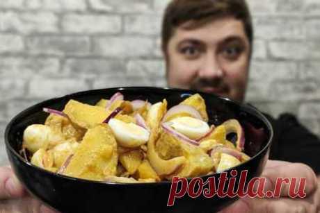 Картофельный салат с перепелиными яйцами | Вкусные кулинарные рецепты Картофельный салат с перепелиными яйцами | Самые вкусные кулинарные рецепты | Новые рецепты с фото и видео на «Kulinarow.ru»
