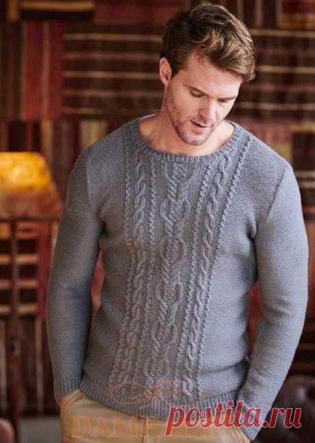 Мужской пуловер «Matteo» | DAMские PALьчики. ru