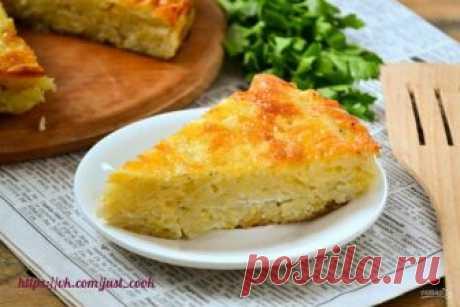 На ужин: запеканка из тертого картофеля с сыром и чесноком — Фактор Вкуса